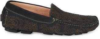 Robert Graham Verrazano Leather Driving Loafers