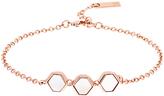 Karen Millen Polyhedra Mother of Pearl Chain Bracelet
