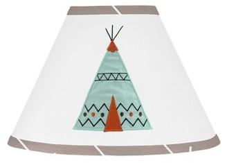 "Sweet Jojo Designs Outdoor Adventure 7"" Cotton Empire Lamp Shade"