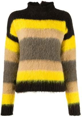 Cavallini Erika textured striped sweater