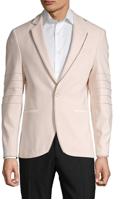 Rnt23 Zip Piping Cotton-Blend Sportcoat