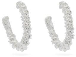 Alighieri The Woven History Sterling-silver Earrings - Silver