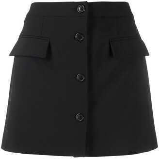 Opening Ceremony Button Front Skirt