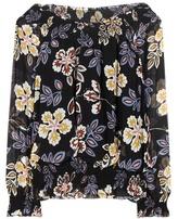 Tory Burch Indie printed silk top