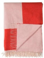 Agnona Cashmere & Wool Colorblock Throw w/ Tags