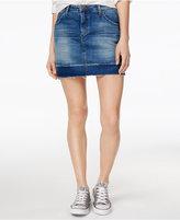 Joe's Jeans Released-Hem Denim Skirt