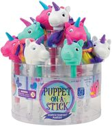 Educational Insights 12-pk. Puppet-on-a-Stick Rainbow Prancers Unicorn Markers
