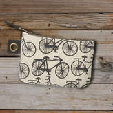 Radcliffe & Sloan Bicycle Print Pouch