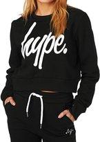 Hype Cropped Crew Sweatshirt