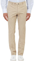 Incotex Men's M-Body Modern-Fit Stretch-Cotton Trousers-BEIGE, TAN