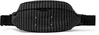 Maison Margiela Logo-Embroidered Canvas Belt Bag