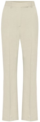 Acne Studios Mid-rise flared pants