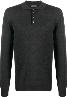 Drumohr knitted polo shirt