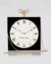 Charlotte Olympia Timepiece Box Clutch Bag, Black