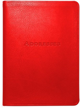 Graphic Image Leather Address Book