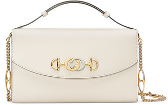 Gucci Zumi Shoulder Bag in Mystic White | FWRD