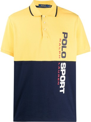 Polo Ralph Lauren two-tone polo shirt