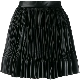 Marco De Vincenzo pleated mini skirt