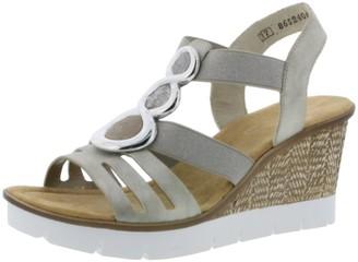 Rieker Women's Fruhjahr/Sommer Closed Toe Sandals
