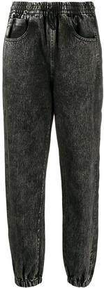 Alexander Wang Denim Tapered Trousers