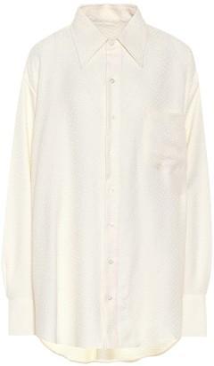 Matthew Adams Dolan Jacquard oversized shirt