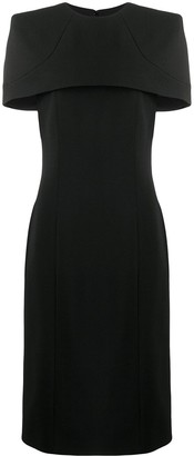 Givenchy Cape Fitted Dress