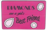 Yazbukey Diamonds Are A Girl's Best Friend Clutch