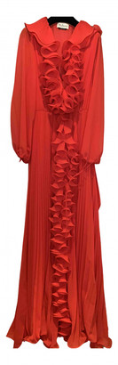 Mulberry Red Polyester Dresses