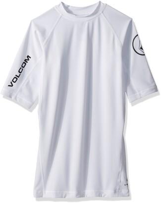 Volcom Men's Lido Solid Short Sleeve Rashguard