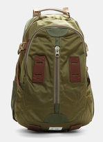 F/CE Satin Travel Backpack in Khaki