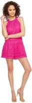 Adelyn Rae Jaclyn Woven Lace Romper Women's Jumpsuit & Rompers One Piece