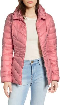 Bernardo Packable EcoPlume Puffer Jacket