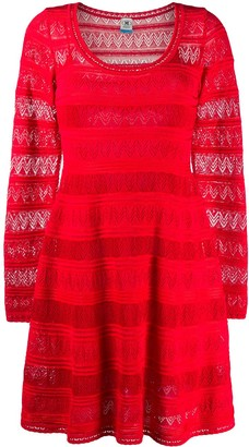 M Missoni Tiered Lace Dress
