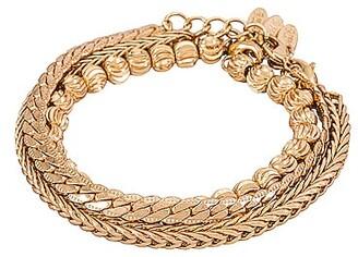 Ettika Ball & Chain Bracelet Set