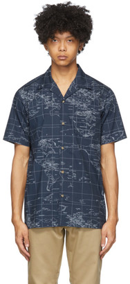 Clot Navy Global Haze Shirt