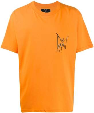 Burton MJB Marc Jacques logo print T-shirt
