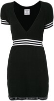 Chanel Pre Owned sport line short sleeves one piece dress