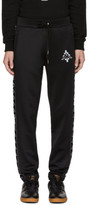 Marcelo Burlon County of Milan Black Kappa Edition Track Pants