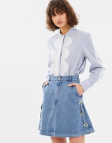 Lover Ranger Mini Skirt