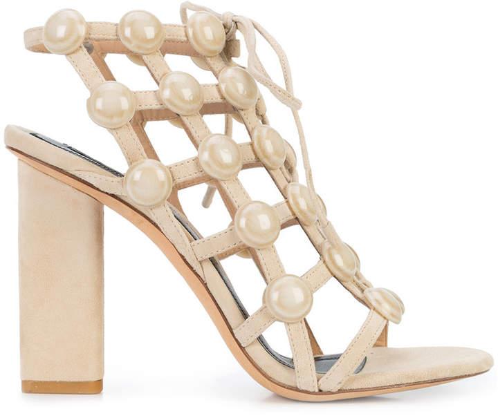 Alexander Wang Rubie Lace Up sandals