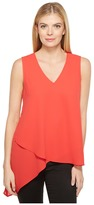 Karen Kane Asymmetric Layered Tank Top Women's Sleeveless