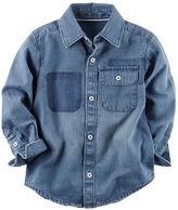 Carter's Denim Button-Front Shirt