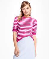 Brooks Brothers Stripe Crewneck Sweater