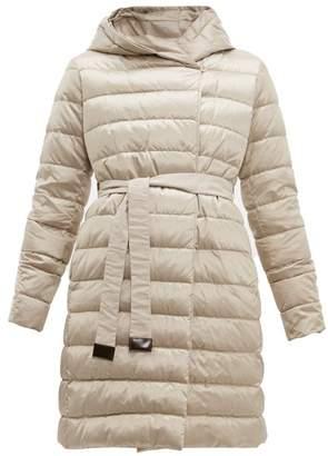 Max Mara S Novef Coat - Womens - Light Grey