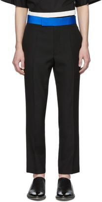 Haider Ackermann Black Skinny Classic Trousers