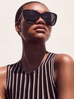 Linda Farrow Luxe Women's Acetate Cat Eye Frame