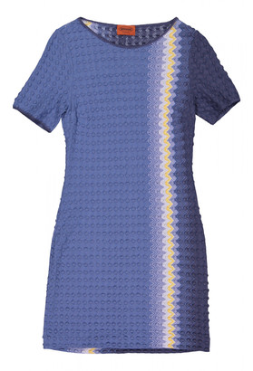 Missoni Blue Wool Dresses
