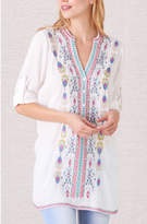 Paparazzi Catalina Embroidered Tunic