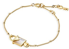 Michael Kors Kors Color Semi-Precious 14K Gold-Plated Sterling Silver Bracelet