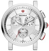 Michele 'Sport Sail - Large' Black Dial Watch Case, 42mm